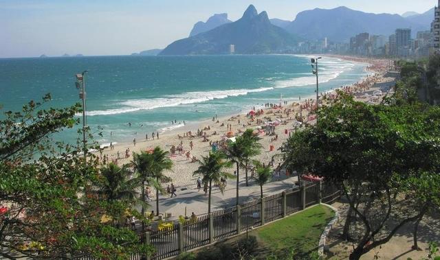 Vista do Parque Garota de Ipanema